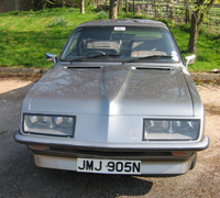 Front view of Droopsnoot Firenza