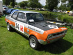 Replica DTV Viva GT - the originals were written off at Lydden in 1971